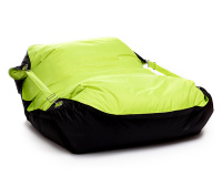 Sedací pytel Omni Bag Duo s popruhy Fluorescent Yellow-Black 181x141