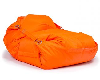 Sedací pytel Omni Bag s popruhy Fluorescent Orange 191x141